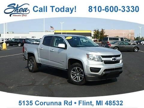 2019 Chevrolet Colorado for sale at Jamie Sells Cars 810 - Linden Location in Flint MI