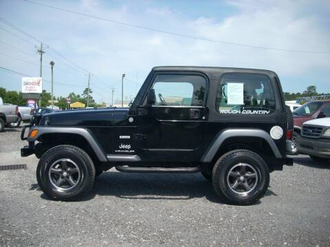 2004 Jeep Wrangler for sale at Car Check Auto Sales in Conway SC