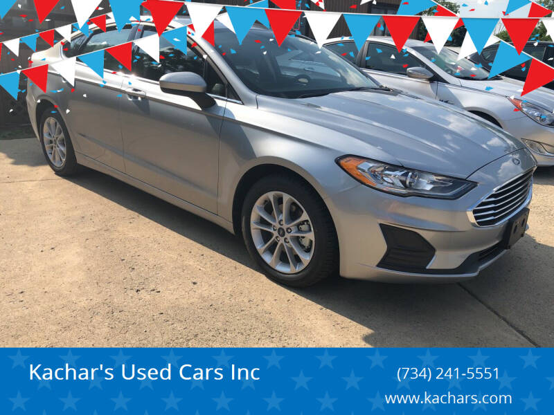 2020 Ford Fusion Hybrid for sale at Kachar's Used Cars Inc in Monroe MI