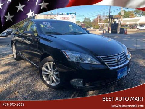 2012 Lexus ES 350 for sale at Best Auto Mart in Weymouth MA
