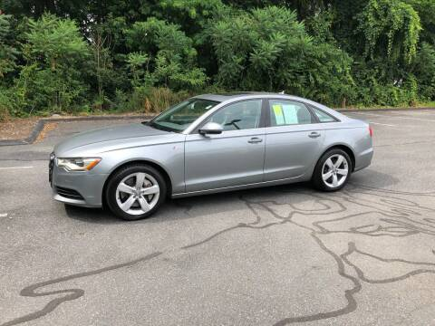 2012 Audi A6 for sale at Chris Auto South in Agawam MA
