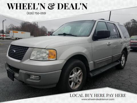 2003 Ford Expedition for sale at Wheel'n & Deal'n in Lenoir NC