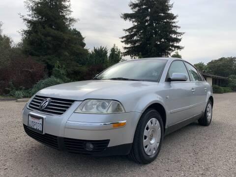 2002 Volkswagen Passat for sale at Santa Barbara Auto Connection in Goleta CA