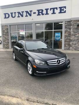 2012 Mercedes-Benz C-Class for sale at Dunn-Rite Auto Group in Kilmarnock VA