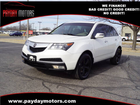2010 Acura MDX for sale at Payday Motors in Wichita And Topeka KS