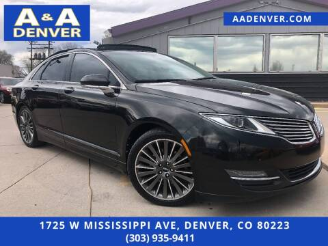 2013 Lincoln MKZ for sale at A & A AUTO LLC in Denver CO