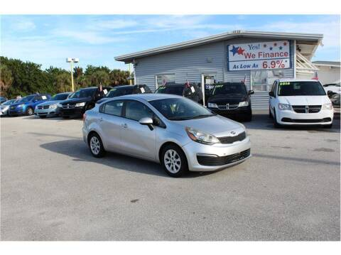 2016 Kia Rio for sale at My Value Car Sales in Venice FL