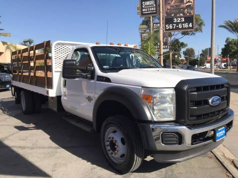 2012 Ford F-450 Super Duty for sale at Sanmiguel Motors in South Gate CA