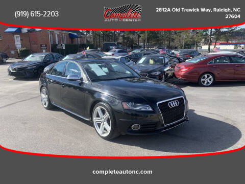 2010 Audi S4 for sale at Complete Auto Center , Inc in Raleigh NC