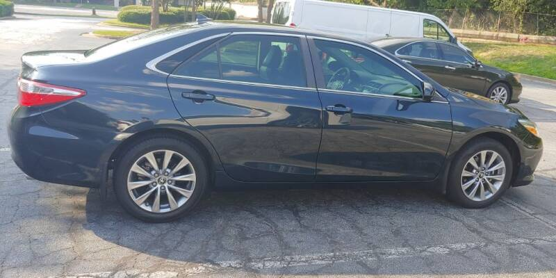 2017 Toyota Camry for sale at C & J International Motors in Duluth GA