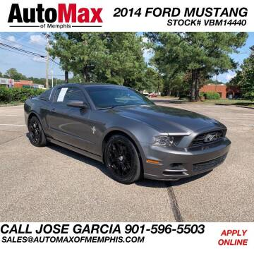 2014 Ford Mustang for sale at AutoMax of Memphis in Memphis TN
