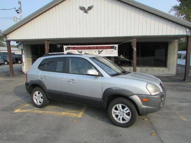 2008 Hyundai Tucson for sale at Eagle Auto Center in Seneca Falls NY