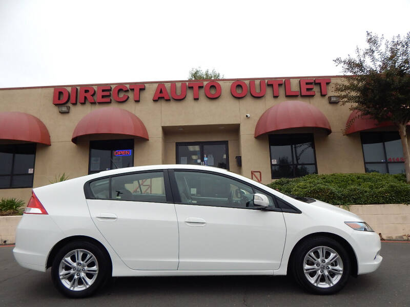 2011 Honda Insight for sale at Direct Auto Outlet LLC in Fair Oaks CA
