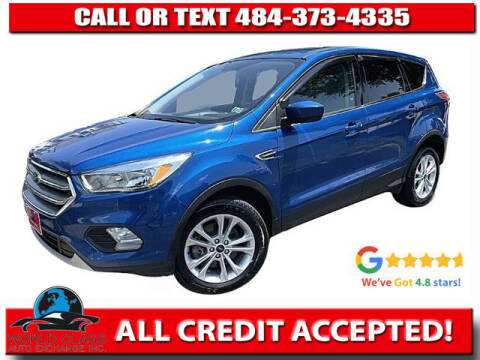 2017 Ford Escape for sale at World Class Auto Exchange in Lansdowne PA
