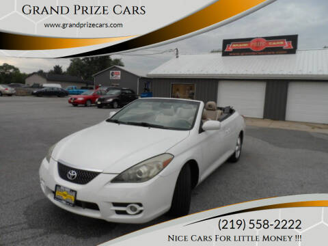 2008 Toyota Camry Solara for sale at Grand Prize Cars in Cedar Lake IN