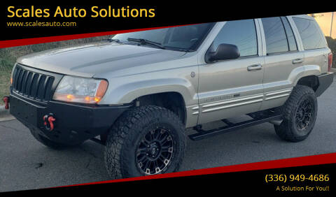 2004 Jeep Grand Cherokee for sale at Scales Auto Solutions in Madison NC