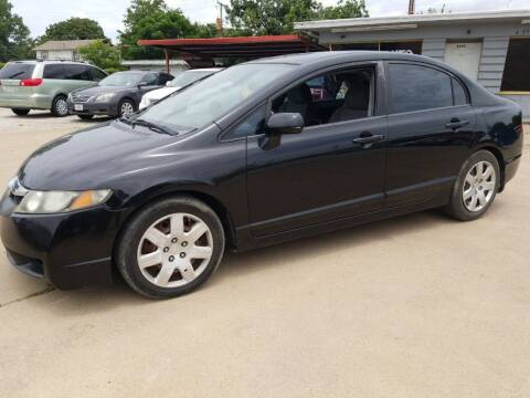 2010 Honda Civic for sale at Nile Auto in Fort Worth TX