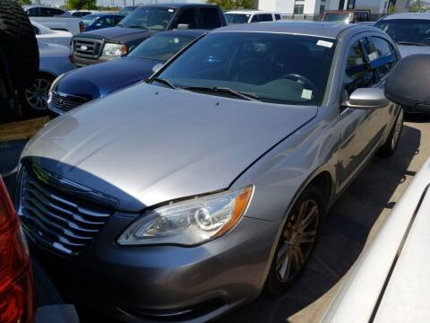 2013 Chrysler 200 for sale at CHEAPIE AUTO SALES INC in Metairie LA