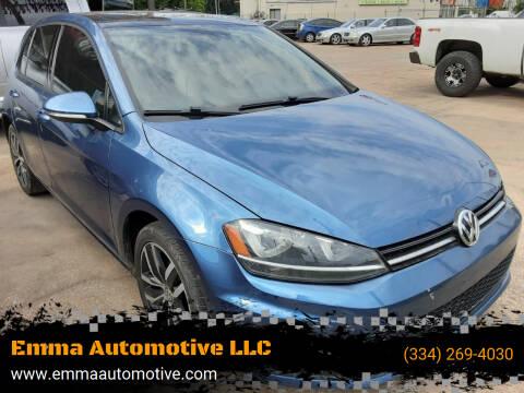2015 Volkswagen Golf for sale at Emma Automotive LLC in Montgomery AL