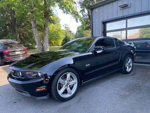 2012 Ford Mustang for sale at Luxury Auto Company in Cornelius NC
