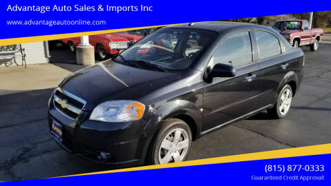 2009 Chevrolet Aveo for sale at Advantage Auto Sales & Imports Inc in Loves Park IL