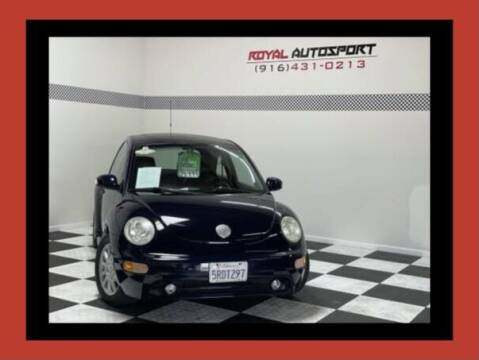 2005 Volkswagen New Beetle for sale at Royal AutoSport in Sacramento CA