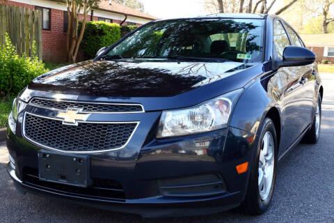 2014 Chevrolet Cruze for sale at Prime Auto Sales LLC in Virginia Beach VA