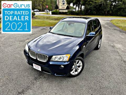 2014 BMW X3 for sale at Brothers Auto Sales of Conway in Conway SC