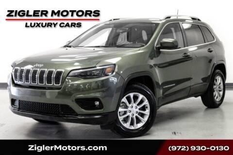 2019 Jeep Cherokee for sale at Zigler Motors in Addison TX