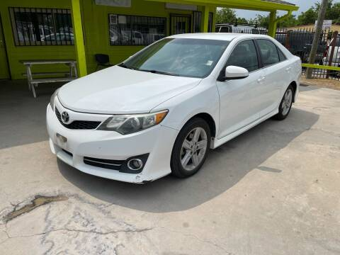 2012 Toyota Camry for sale at RODRIGUEZ MOTORS CO. in Houston TX
