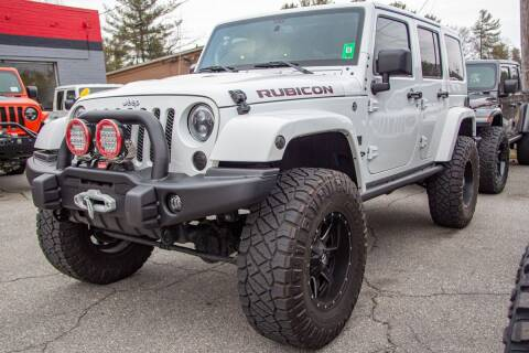 2017 Jeep Wrangler Unlimited for sale at Boone NC Jeeps-High Country Auto Sales in Boone NC