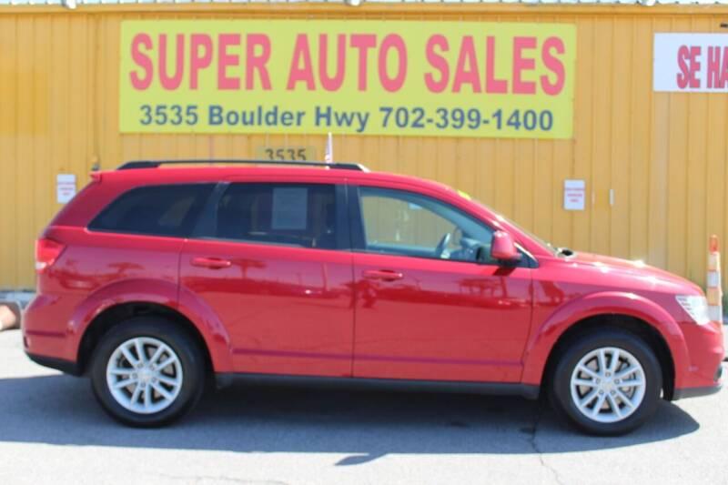 2016 Dodge Journey for sale at Super Auto Sales in Las Vegas NV