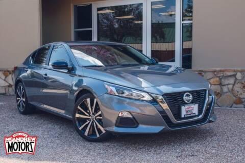 2020 Nissan Altima for sale at Mcandrew Motors in Arlington TX