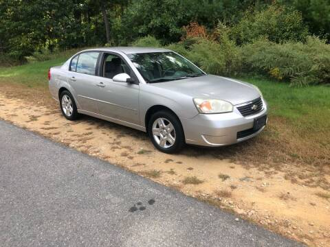 2006 Chevrolet Malibu for sale at Billycars in Wilmington MA