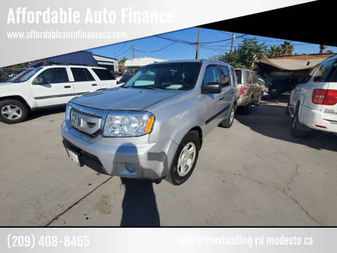 2011 Honda Pilot for sale at Affordable Auto Finance in Modesto CA