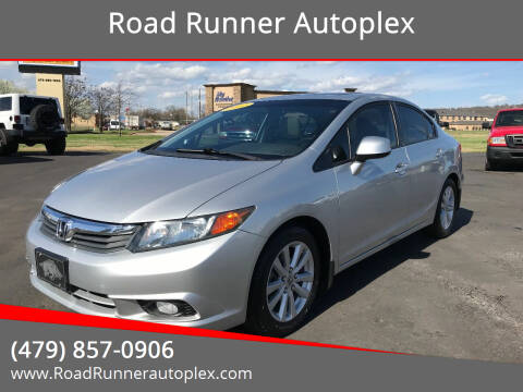 2012 Honda Civic for sale at Road Runner Autoplex in Russellville AR