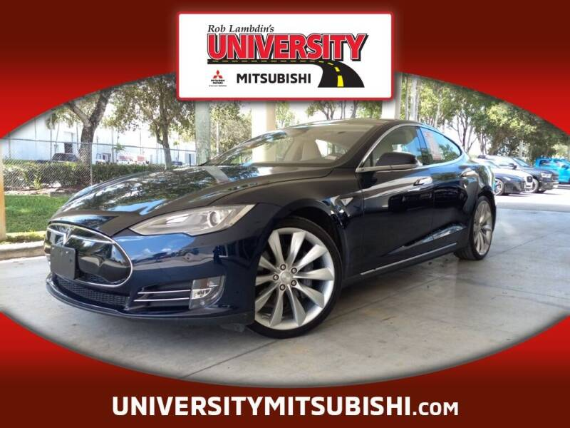 2013 Tesla Model S for sale at FLORIDA DIESEL CENTER in Davie FL