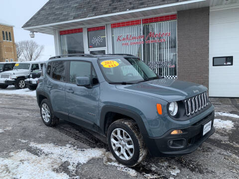 2017 Jeep Renegade for sale at KUHLMAN MOTORS in Maquoketa IA