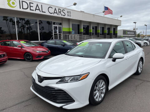 2018 Toyota Camry for sale at Ideal Cars in Mesa AZ