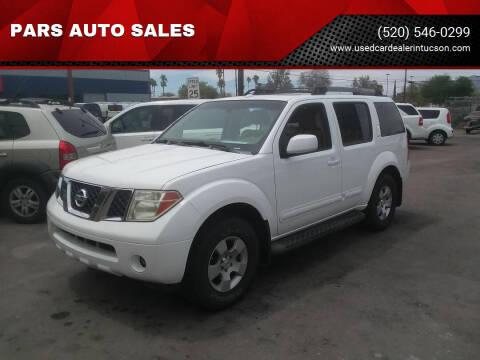 2006 Nissan Pathfinder for sale at PARS AUTO SALES in Tucson AZ