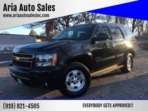 2011 Chevrolet Tahoe for sale at ARIA  AUTO  SALES in Raleigh NC