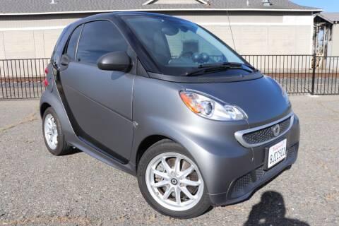 2015 Smart fortwo electric drive for sale at California Auto Sales in Auburn CA