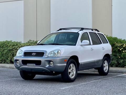 2004 Hyundai Santa Fe for sale at Carfornia in San Jose CA