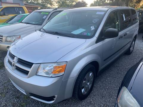 2008 Dodge Grand Caravan for sale at Trocci's Auto Sales in West Pittsburg PA