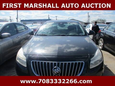 2011 Buick Regal for sale at First Marshall Auto Auction in Harvey IL