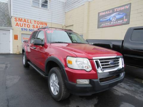 2007 Ford Explorer Sport Trac for sale at Small Town Auto Sales in Hazleton PA
