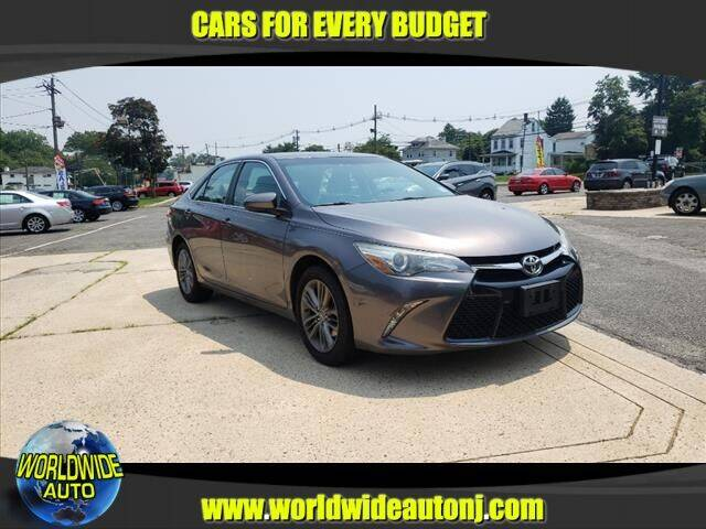 2015 Toyota Camry for sale at Worldwide Auto in Hamilton NJ