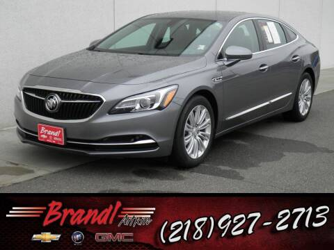 2018 Buick LaCrosse for sale at Brandl GM in Aitkin MN