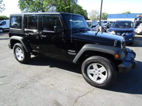 2017 Jeep Wrangler Unlimited for sale at 2010 Auto Sales in Troy NY