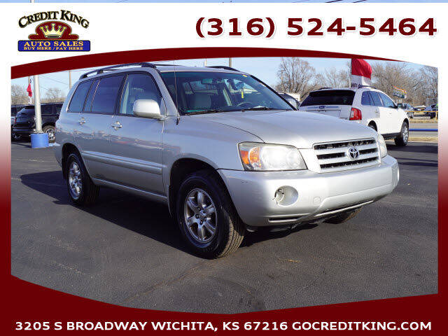 2006 Toyota Highlander for sale at Credit King Auto Sales in Wichita KS